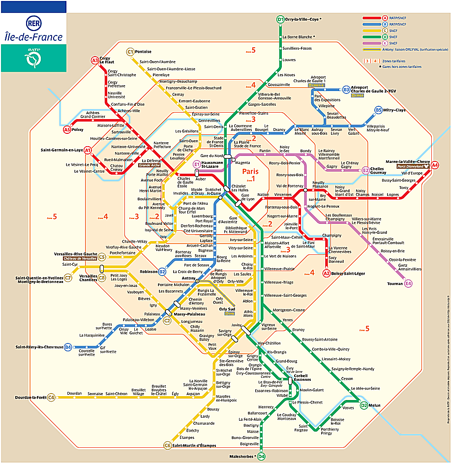 paris-RER-map