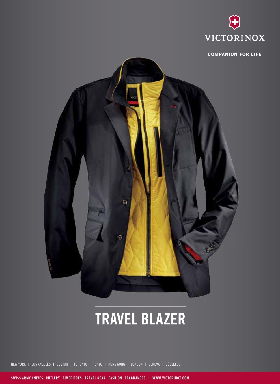 Victorinox Mens travel blazer