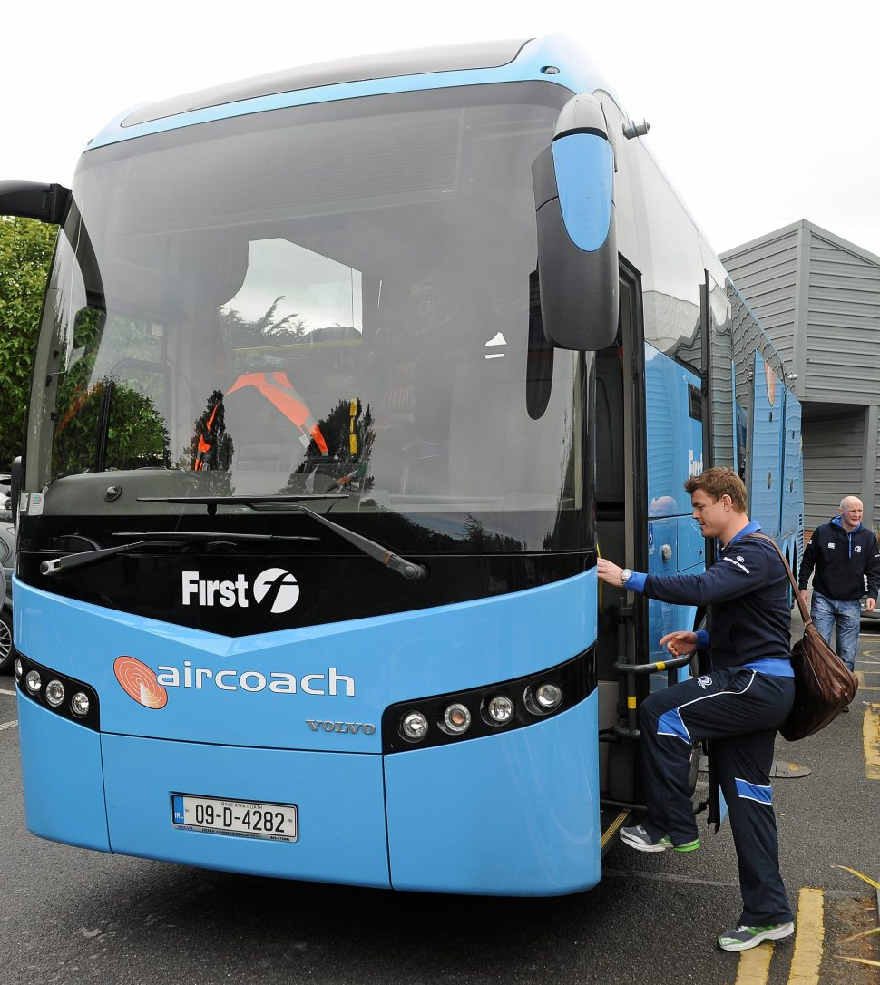 Leinster Rugby Squad depart for Heineken Cup Final