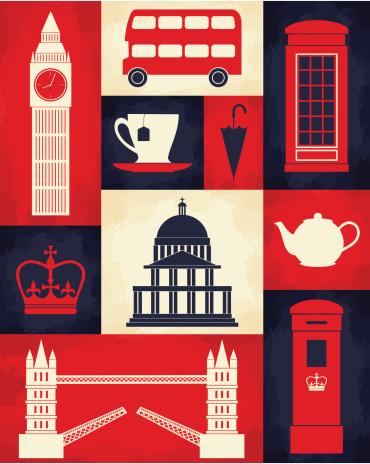 Retro London Poster