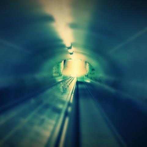 """""""The Last Train."""" / Montréal, Canada. © David-Kevin Bryant"""