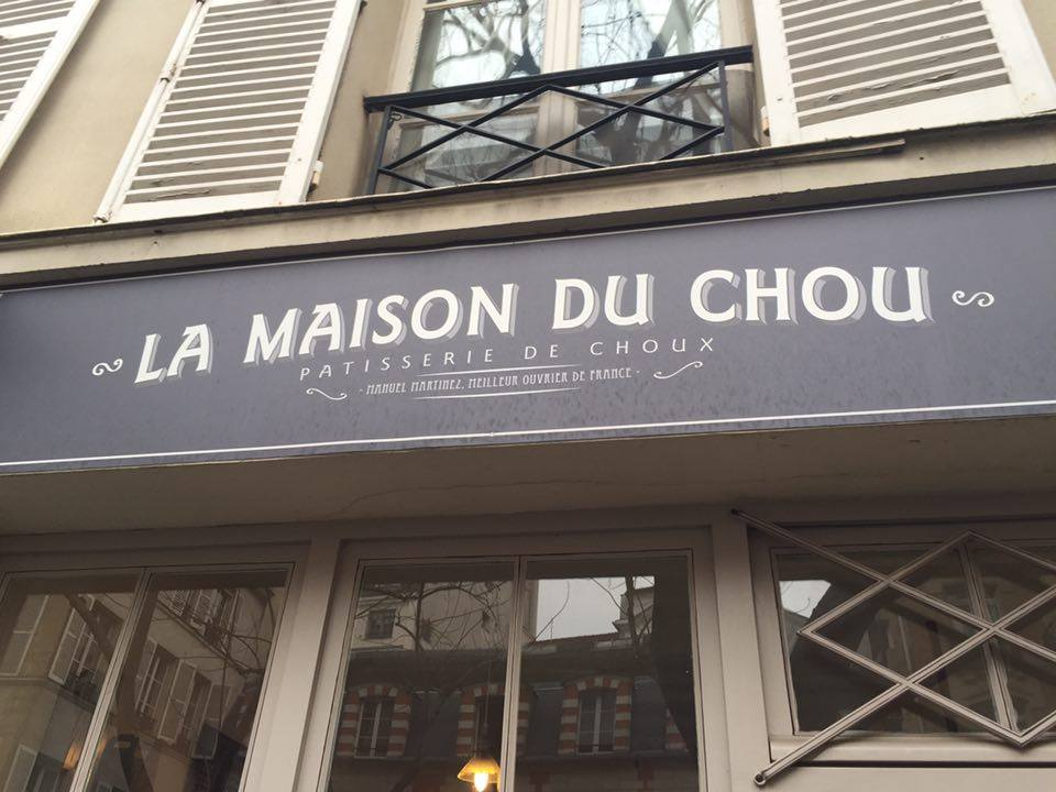 The entrance to La Maison du Chou. © T. Foley