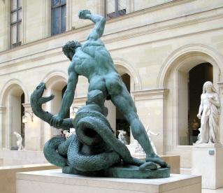 Hercules fighting Achelous Francoise Joseph Bosio, 1824 Musée du Louvre