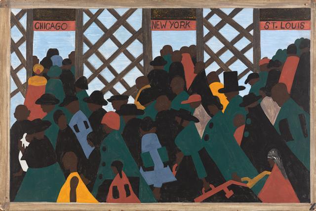 The Migration Series, Panel no. 1 Jacob Lawrence 1940–41