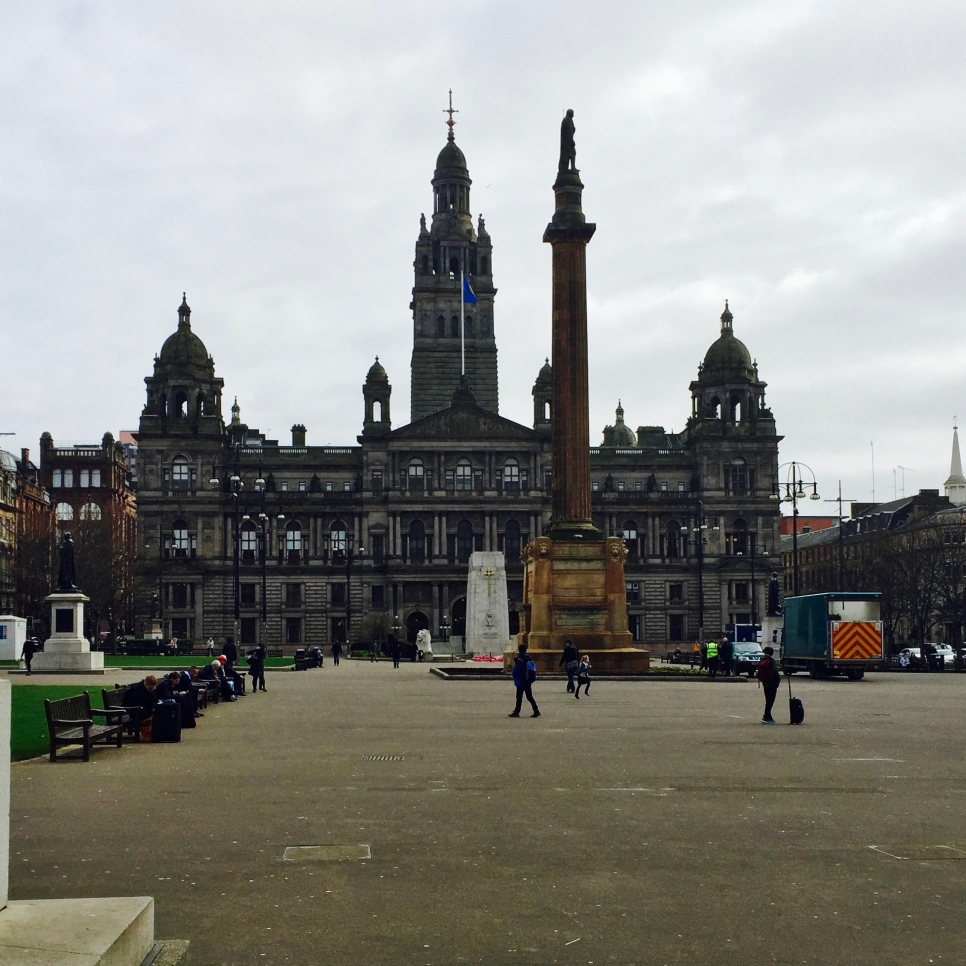 George Square. © David-Kevin Bryant