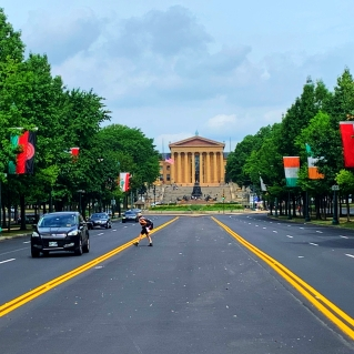 The Philadelphia Museum of Art. © David-Kevin Bryant