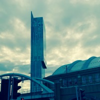 Manchester's Beetham Tower...